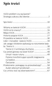 VUCA - spis treści